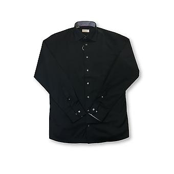 Eton Red Contemporary shirt in black