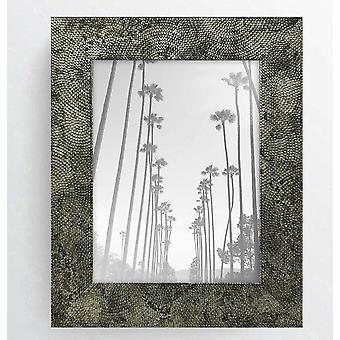 Photo Picture Frame Morocco Wide Textured Black White Wall Mounted Poster Modern