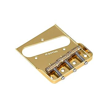 """Gotoh Bs-tc1sc Telecaster Replacement Bridge With Brass """"in-tune"""" Saddles"""