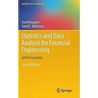 Statistik och data analys för finansieringsteknik av David Ruppert