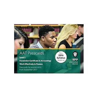 AAT Work Effectively in Finance by BPP Learning Media