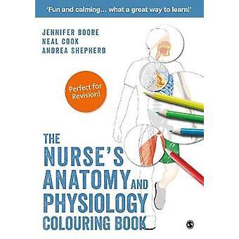 Sjuksköterskor anatomi och fysiologi målarbok av Jennifer Boore
