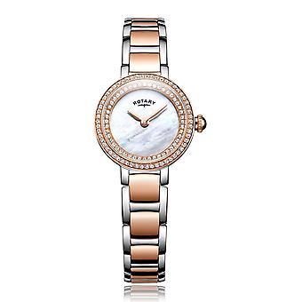 Rotary LB05086-41 Ladies' Stone Set Cocktail Wristwatch