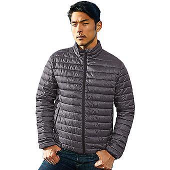 Outdoor Look Mens Melange Lightweight Warm Padded Jacket