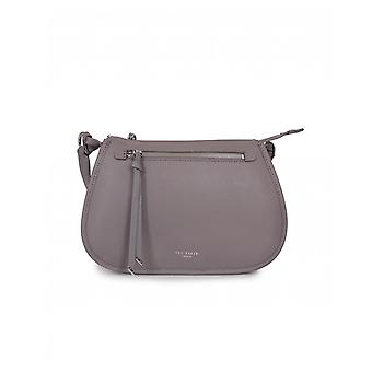 Sac de messager zip zip en cuir souple Ted Baker