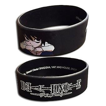 Wristband - Death Note - L PVC New Licensed ge54110