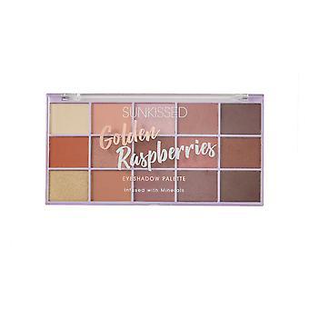Sunkissed Golden Raspberries Eyeshadow Palette Infused with Minerals -15 x 1.7g Eyeshadow