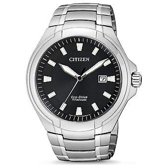 Kansalainen miesten watch eco-drive titaani BM7430 89E