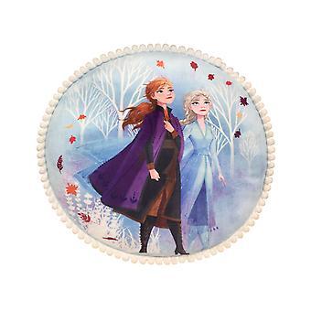 Frozen 2 Pom Pom Cushion
