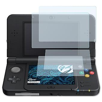 Bruni 2x Screen Protector compatible with Nintendo New 3DS 2015 Protective Film