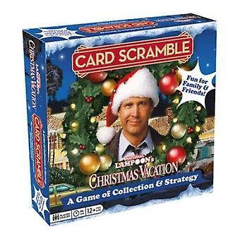 National lampoon's xmas vacation card scramble game