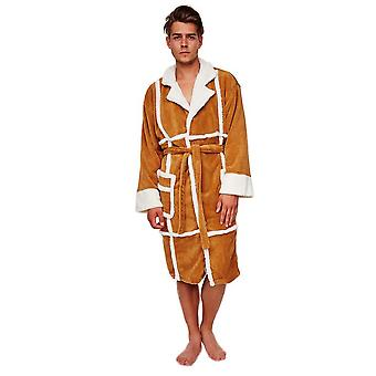 Only Fools and Horses Del Boy Adult Fleece Dressing Gown  - ONE SIZE