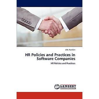 HR-beleid en-praktijken in software bedrijven door J M Franklin
