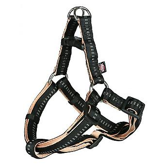 Trixie Harness One Touch Soft Eleganece Black and Beige