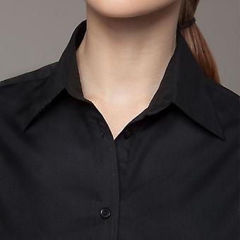 Bargear® Ladies Mock Turn Back Cuffs Bar Shirt