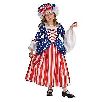 Betsy Ross Çocuk Kostümü