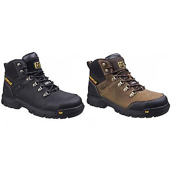 Caterpillar Mens CAT Framework S3 Safety Leather Boots