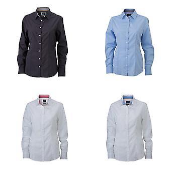 James and Nicholson Womens/Ladies Plain Shirt