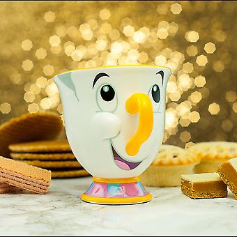 Beauty and the Beast Chip Mug Coffee Drinks Ceramic Tea Cup