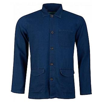 Oliver Spencer Warham Seersucker Over Shirt