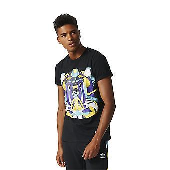アディダス シュー モンタージュ BK7602 ユニバーサル サマー メンズ Tシャツ