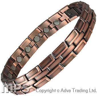 MPS® ECHNATON Copper Rich Magnetic Bracelet + Free Links Removal Tool