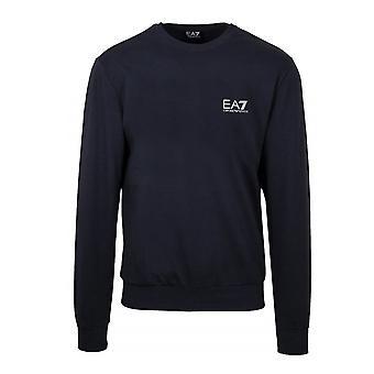 EA7 Emporio Armani Ea7 | Emporio Armani 8npm52 Pj05z Plain Metallic Logo Sweat Top