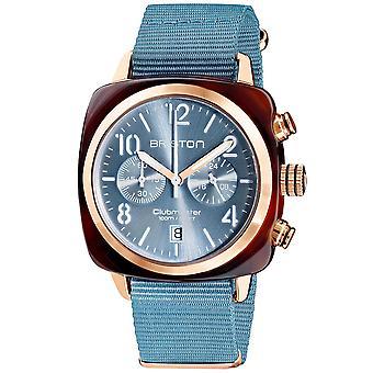 Briston Clubmaster Classic Quartz Chronograph Mens Watch 19140.PRA.T.25.NIB