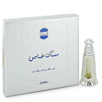 Ajmal Musk Khas Concentrated Perfume Oil (Unisex) Di Ajmal 0.1 oz Olio di Profumo Concentrato