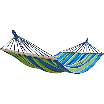 Hammock with Wooden rods, 100 x 200 cm - Blue