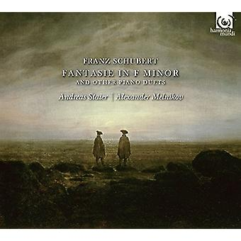 Schubert / Staier, Andreas / Melnikov, Alexander - Works for Four-Hand Piano [CD] USA import