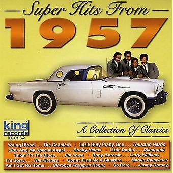 Glasunderlägg/diamanter/han - Super Hits 1957 [CD] USA import