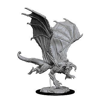 D&D Nolzur's Marvelous Unpainted Minis Young Black Dragon