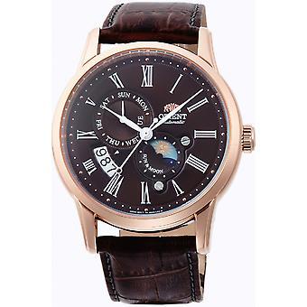 Orient Classic Watch FAK00003T0 - Läder Gents Automatisk analog