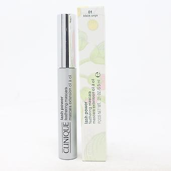 Clinique Lash Power Feathering Mascara 01 Black Onyx 0.21oz/5.5ml New With Box
