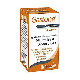 Gastone (Pure Carbon) 60 capsules of 260mg