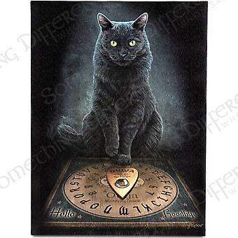 Lisa Parker Cat And Ouija Board Design Plaque