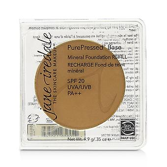 Renpressad bas mineral foundation refill spf 20 golden tan 238803 9.9g/0.35oz