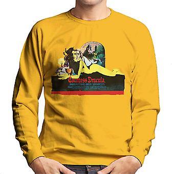 Hammer Horror Films Comtesse Dracula Movie Poster Men-apos;s Sweatshirt Hammer Horror Films Comtesse Dracula Movie Poster Men-apos;s Sweatshirt Hammer Horror Films Comtesse Dracula Movie Poster Men-apos;s Sweatshirt Hammer Horror