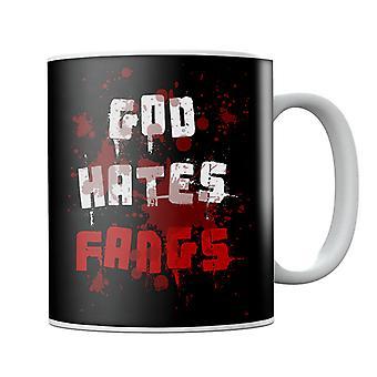 Gud hater fangs ekte blod krus