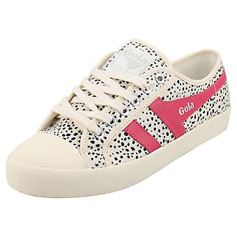 Gola Coaster Cheetah Donne Fashion Trainers in Off White