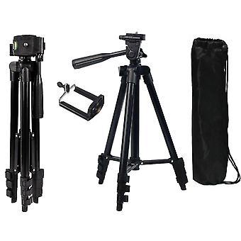 Universal teleskopkamera stativ Mount Holder til iPhone Samsung + Taske