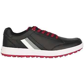 Slazenger Mens Lace Up Sports Spikeless Golf Shoes Training Casual