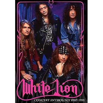 Vita lejon - konsert Anthology1987-1991 Deluxe Pack [DVD] USA import