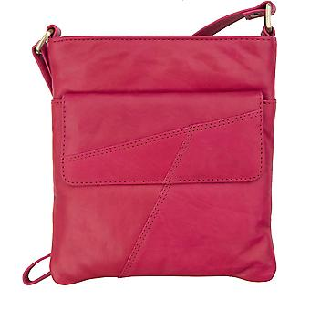Primehide naisten nahka pieni crossbody olkapää käsilaukku tabletti laukku hyvät 6550