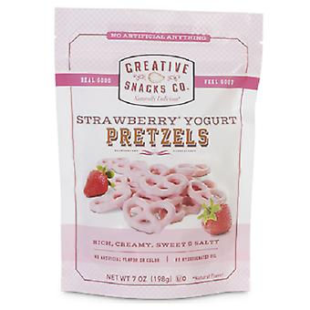 Kreatív snack Co. Strawberry joghurt pretzels