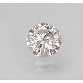 Zertifiziert 0.51 Carat E SI1 Round Brilliant Enhanced Natural Loose Diamond 5.07mm