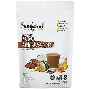 Sunfood, Superfoods, Organic Maca & Mushrooms, 7 oz (198 g)