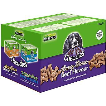 Chewdles Gravy Bones - Boeuf - 10kg