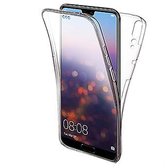 Full Protection Mobile pour Huawei P20 Lite TPU Shell Transparent Phone Transparent